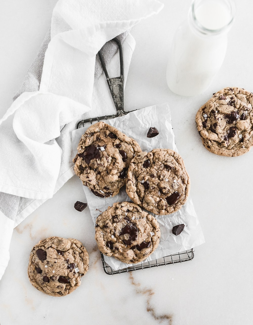 Buttery, rich and chocolatey Neiman Marcus Chocolate Chip Cookies from the Neiman Marcus Cooks cookbook.| via livelytable.com