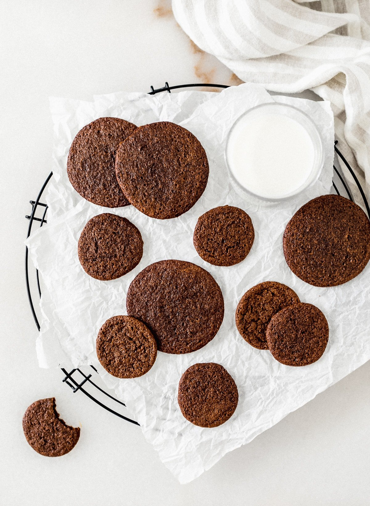 easy one bowl gingersnaps