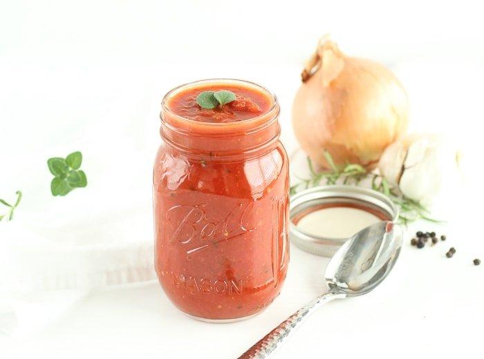 Garlic Herb Spaghetti Sauce