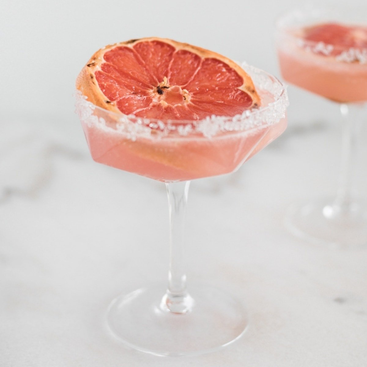 honey broiled grapefruit paloma