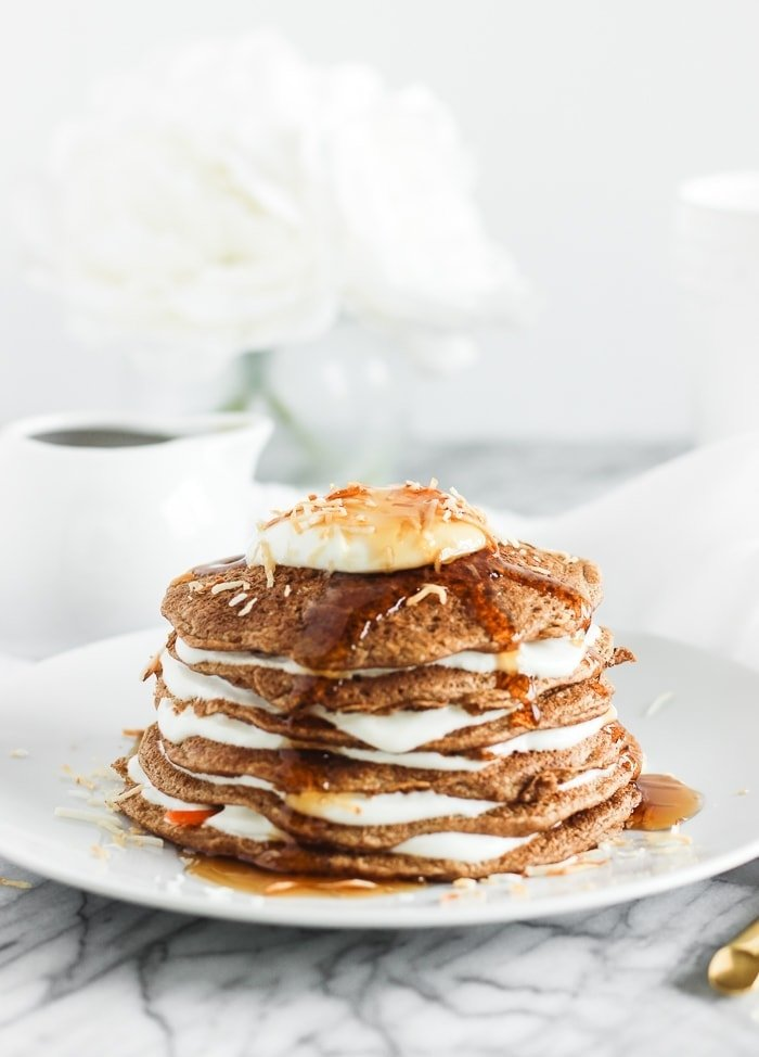 Healthy Carrot Cake Pancakes Lively Table
