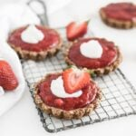 Mini Gluten-Free Strawberry Rhubarb Tarts