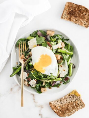 Spring Breakfast Salad