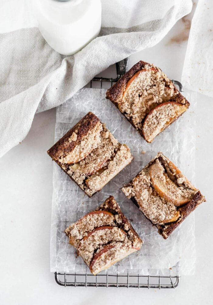 apple pie brown butter blondies