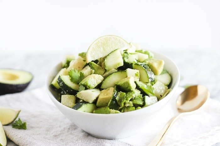 Avocado, Jicama and Cucumber Salad