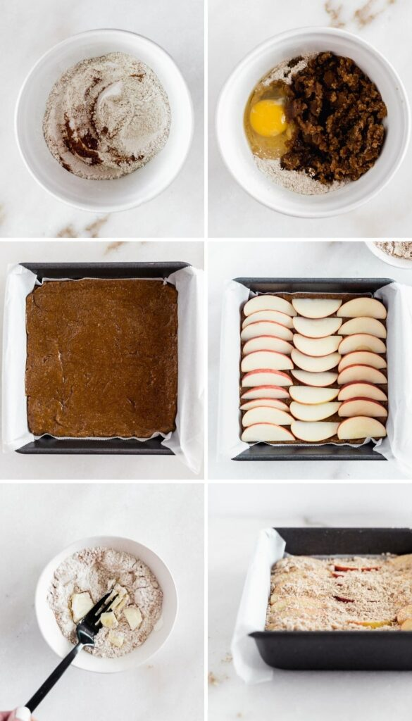 How to make apple pie brown butter blondies.