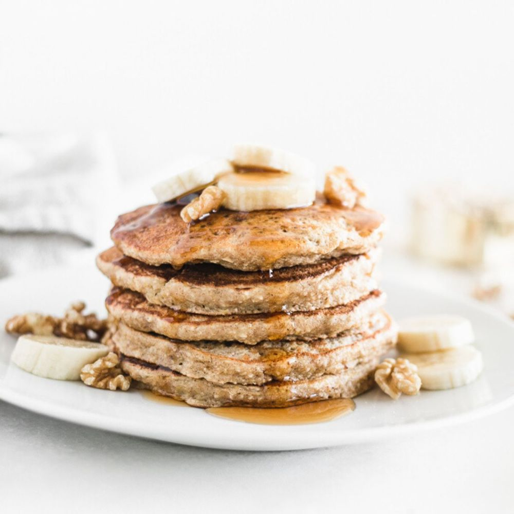 Healthy Banana Oatmeal Pancakes Lively Table