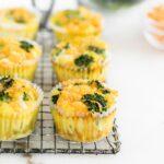 Make-Ahead Broccoli Cheddar Egg Muffins