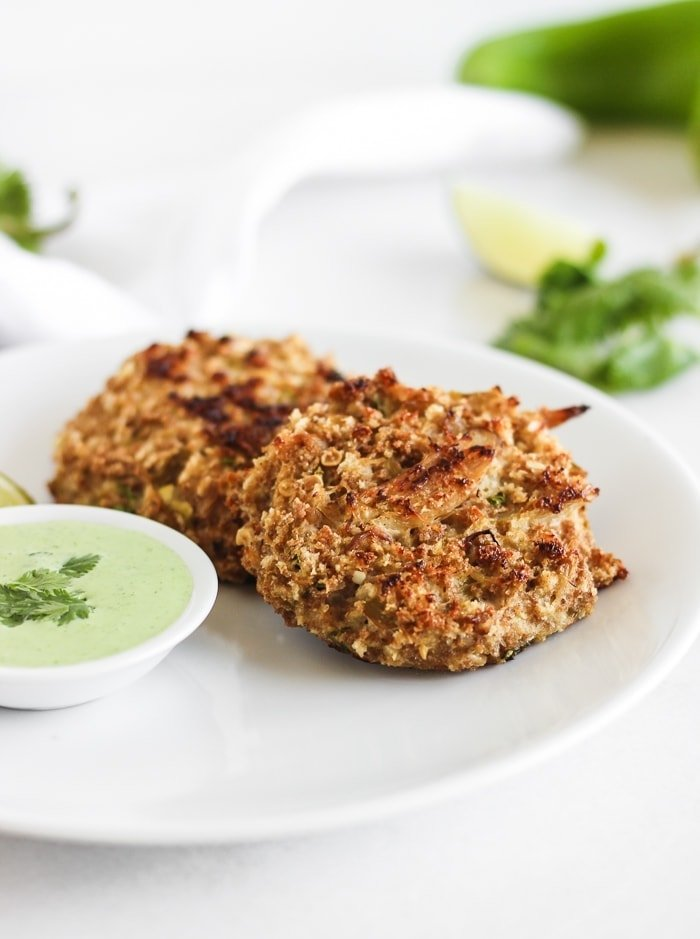 hatch chile crab cakes