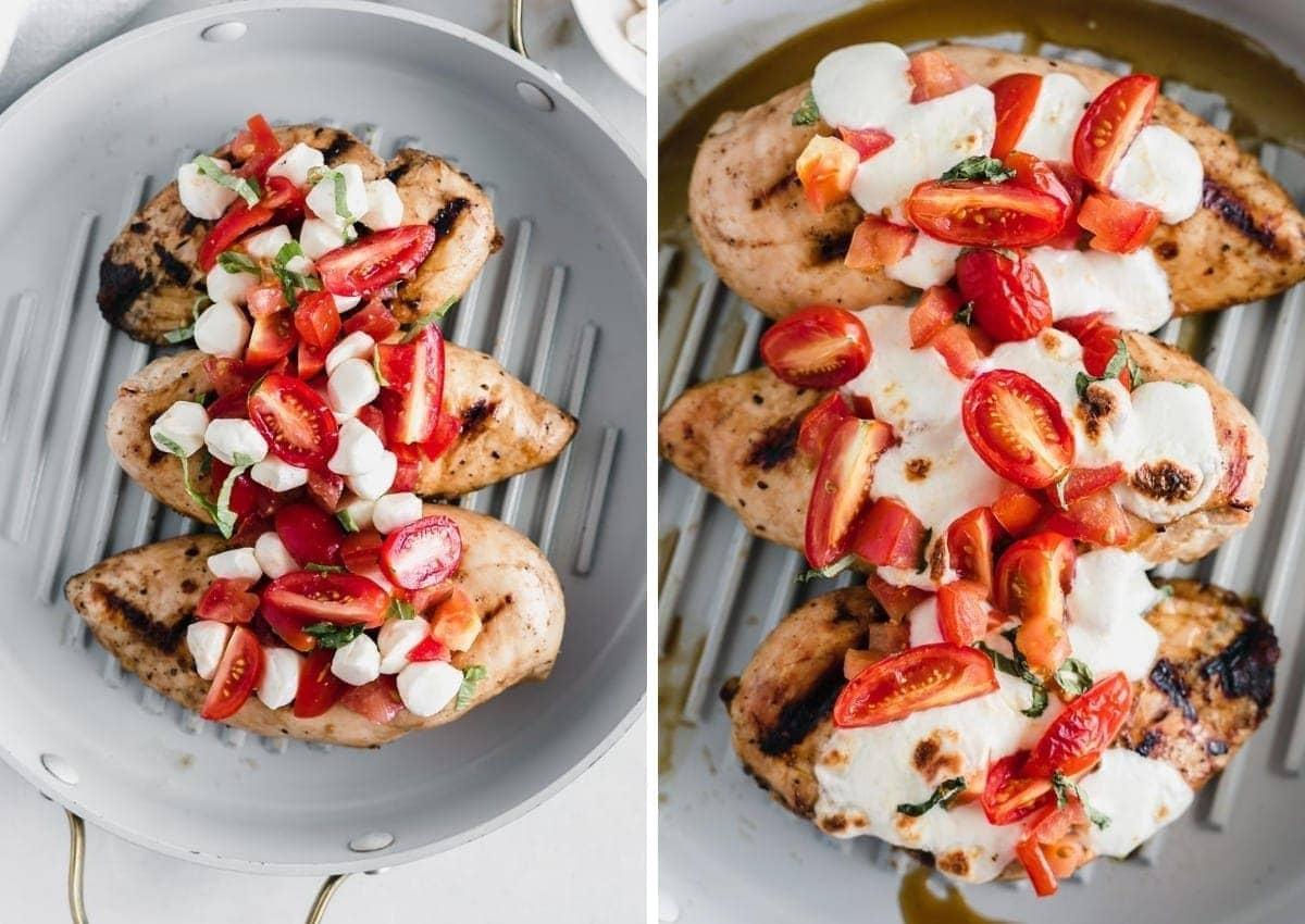 Tomato Basil Bruschetta Chicken