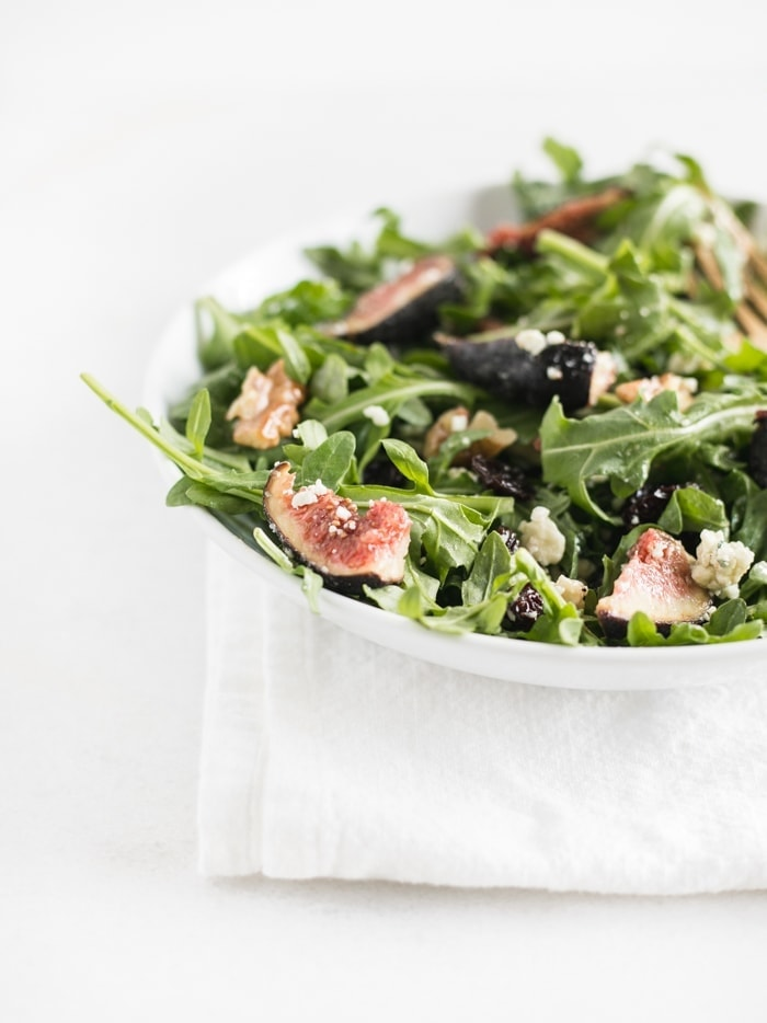 fig arugula salad