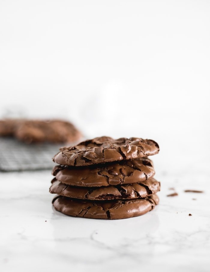 flourless chocolate pecan cookies