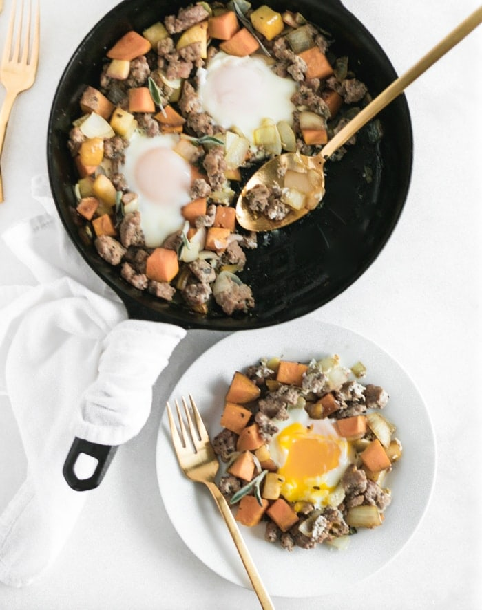 apple sweet potato hash