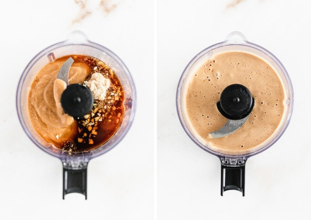how to make Thai peanut sauce in a blender.
