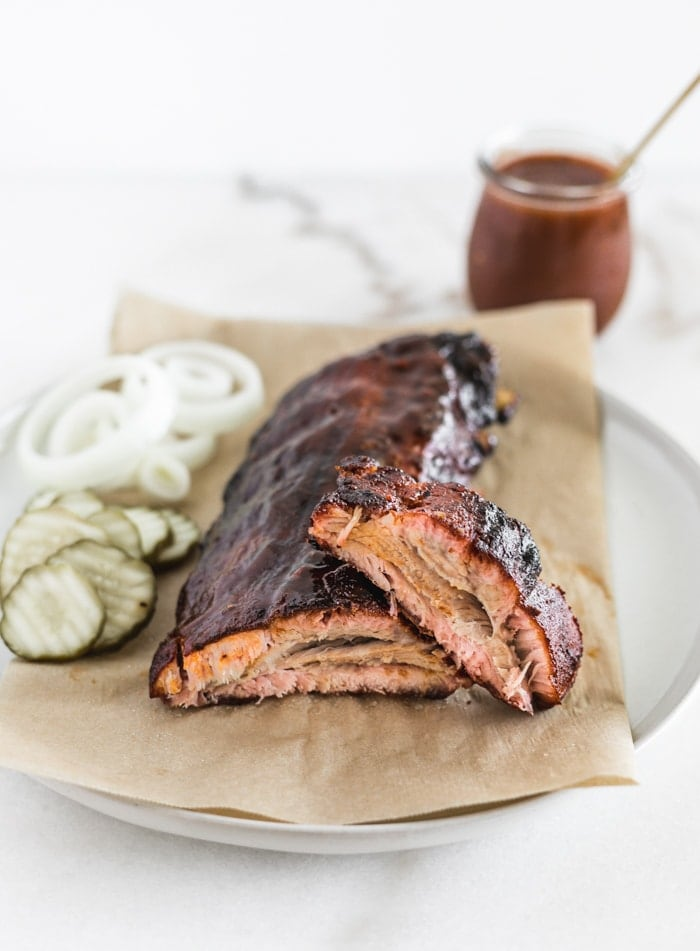 Easy Crock Pot BBQ Ribs