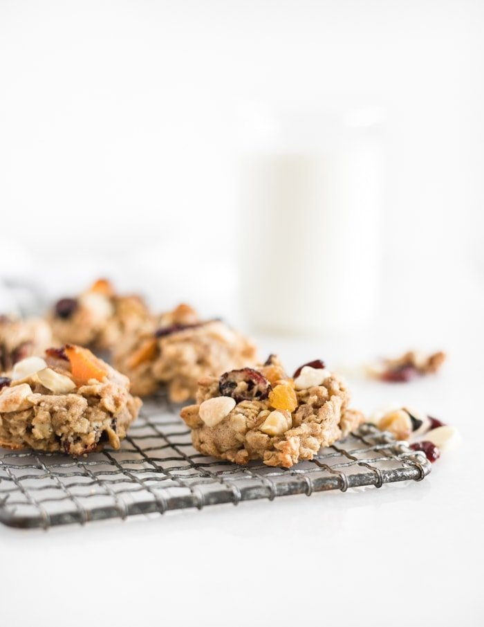 fall harvest oatmeal cookies