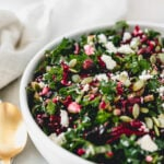 Shredded Beet Kale Salad