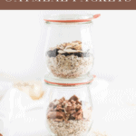 Save time and money on breakfast in the mornings with this customizable healthy instant oatmeal packet recipe! #glutenfree #vegan #dairyfree #instantoatmeal #oatmeal #healthybreakfast #healthysnack #quickbreakfast #breakfasttogo