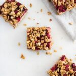 no added sugar pbj oatmeal bars