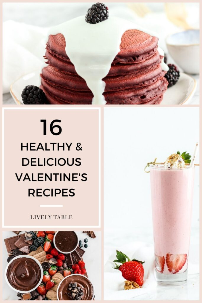 Celebrate Valentine's Day with healthier sweet treats by making your sweetheart one of these delicious and healthy Valentine's Day recipes!