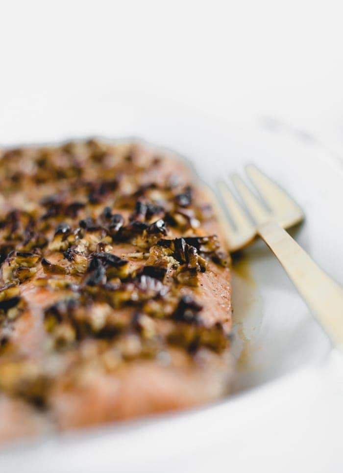 honey pecan salmon