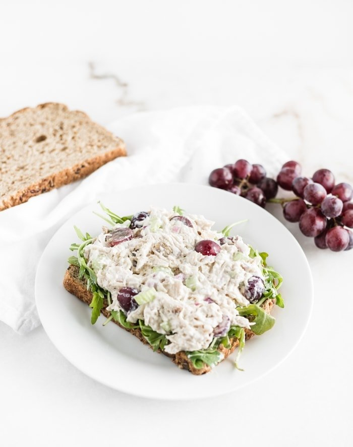 Healthy Greek Yogurt Chicken Salad