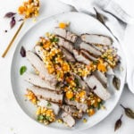 Summer Grilled Apricot Pork Chops