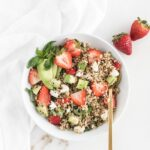 Strawberry Avocado Quinoa Salad