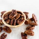 Easy 3 Ingredient Candied Pecans