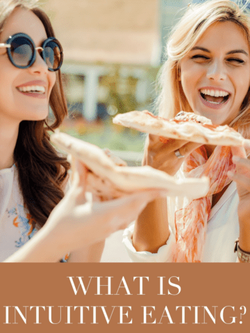 What is Intuitive Eating? Is it right for you? Find out in this guest post by Emily Kyle, MS, RD! | #inutitiveeating #mindfulness #health | via livelytable.com