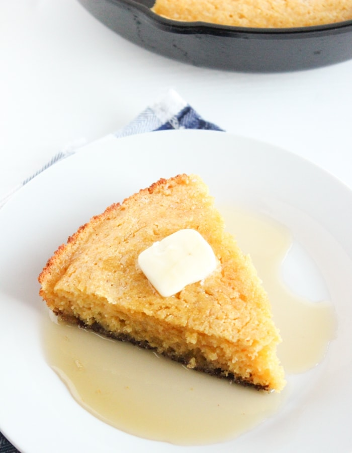 Lightened Up Skillet Cornbread