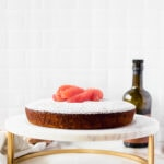 A simple and flavorful winter grapefruit olive oil cake that's delicious enough for dessert, but healthy enough for breakfast - no frosting required. (dairy-free, nut-free)