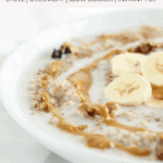 pinterest image for how to cook steel cut oats 4 ways.