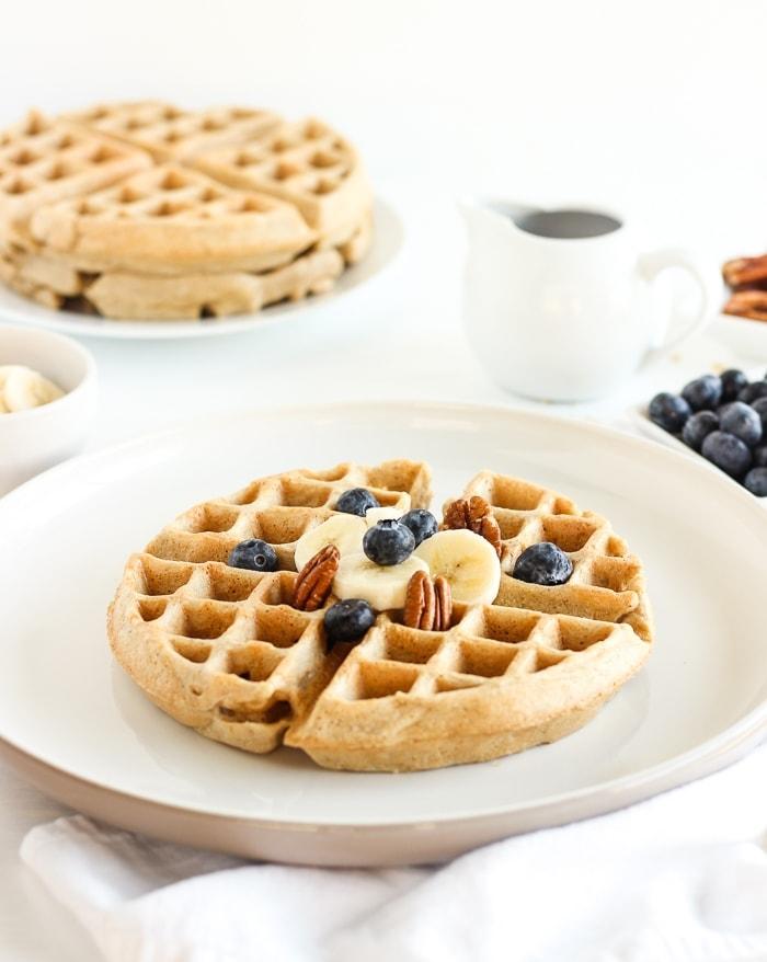 Gluten-Free Oatmeal Waffles