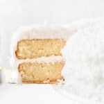 Grandpa's Favorite Coconut Cake with 7 minute frosting