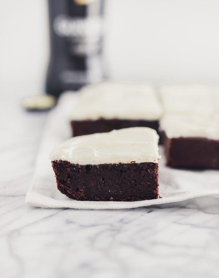 fudgy guinness brownies