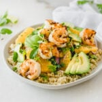 Shrimp, Orange and Avocado Quinoa Salad