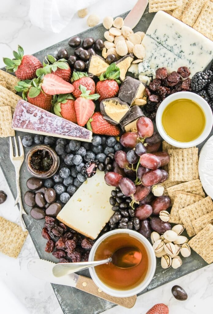 berry cheese board