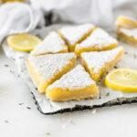 gluten-free lavender lemon bars