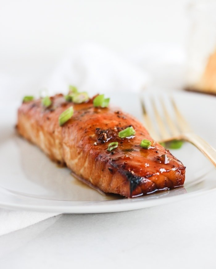 Grilled Bourbon Glazed Cedar Plank Salmon Lively Table