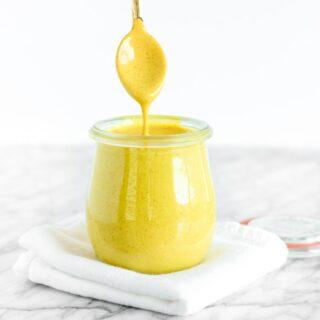golden turmeric tahini sauce