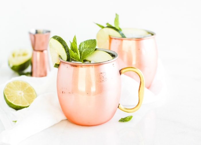 Kombucha Mule (Cocktail or Mocktail)