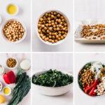 moroccan chickpea kale salad