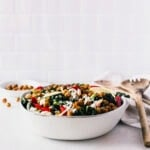 moroccan chickpea kale salad