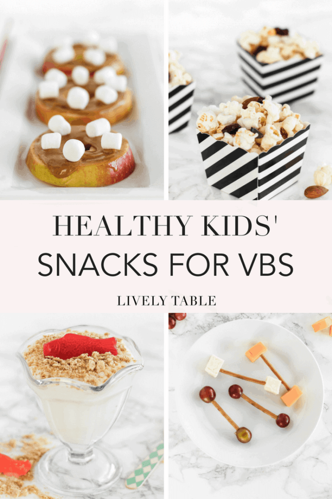 Healthy VBS snacks for kids
