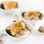 Honey Roasted Acorn Squash Breakfast Bowls