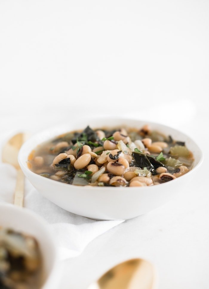 easy Instant Pot New Years Black Eyed Peas