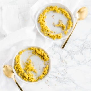 turmeric golden milk oatmeal