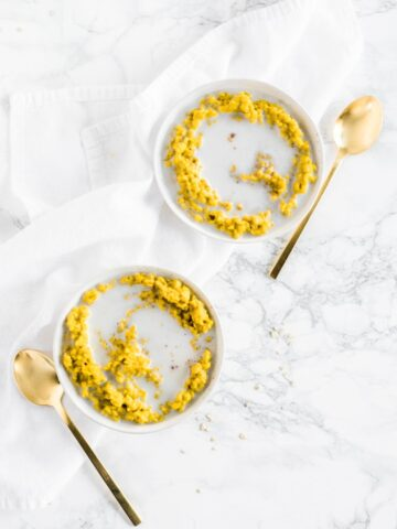 turmeric golden milk oatmeal