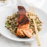 harissa glazed salmon